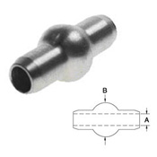 Double Shank Ball Swage - Stainless Steel Type 316 - 1/8