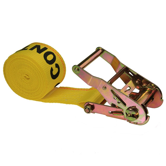 2 X 10 Endless Ratchet Strap Yellow Us Cargo Control