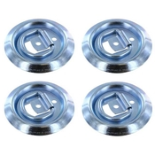 (4 pack) Flush Mount D-Ring 1,200 lbs image