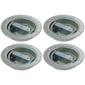 (4 pack) 360 Degree Rotating Recessed Pan Fitting - 6,000 Lbs. image