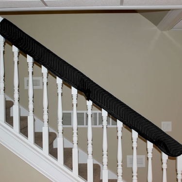 Quilted Banister Cover