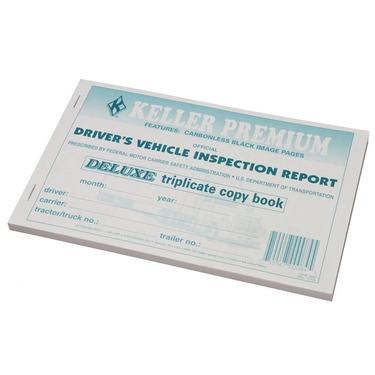 Vehicle Inspection Report - Driver's Checklist
