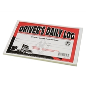 Driver's Daily Log Book with Simplified DVIR image