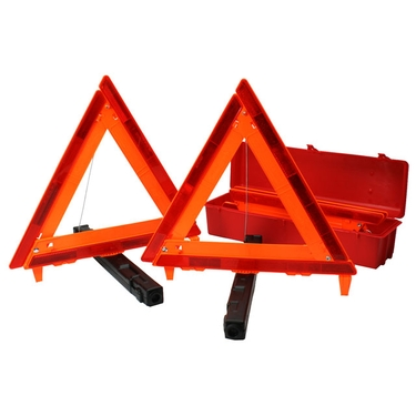 Safety/Emergency Triangles - Set of 3 with Case