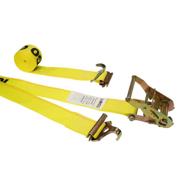 2 X 12 F Hook Ratchet Strap With 2 F Hook And 2 Spring E Fitting