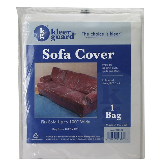 Plastic couch covers 134 x 42 plastic sofa cover uscargocontrol Furniture plastic cover