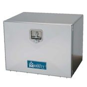 Smooth Single Door Aluminum Tool Box - 24