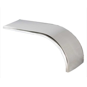 Half Tandem 16 Gauge Stainless Steel Fender - 24