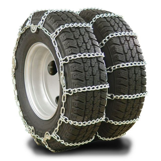 Tractor Tire Chain Links : How to install dual chains autos post