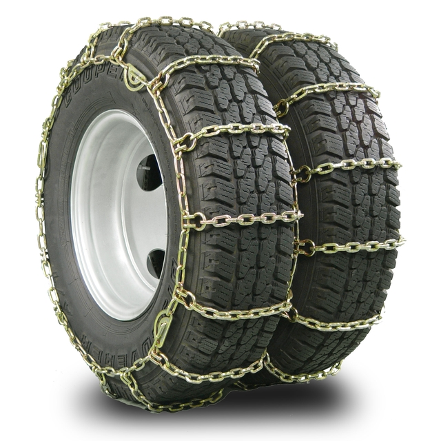 Tractor Tire Chain Links : Tire chains tractor dual pewag chain w square