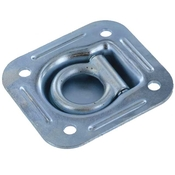 Recessed Pan Fitting - Trailer Tie Down Fittings - Anchor Ring image