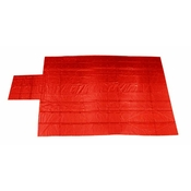 Heavy Duty Lumber Tarp - 24' x 28' (8' Drop & Flap) - 18 oz. Red Tarp image