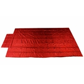 Heavy Duty Lumber Tarp - 16' x 27' (4' Drop & Flap) - 18 oz. Red Tarp image