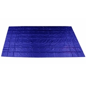 Heavy Duty Steel Tarp - 16' x 27' (4' Drop-4-Sided) - 18 oz. Blue image