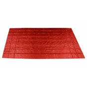Heavy Duty Steel Tarp - 16' x 27' (4' Drop-4-Sided) - 18 oz. Red image