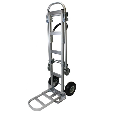 Aluminum Convertible Hand Truck with Extension Nose Plate