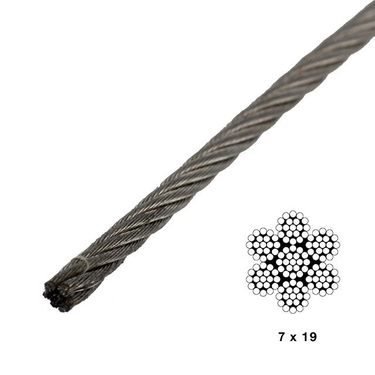 Three Sixteenths X 500 Foot 1 X 19 Grade 316 Stainless Cable besides 3 16 7x19 Type 304 Stainless Steel Wire By Linear Foot as well Single Stud Fitting Red Color further U Bolt Stainless Steel Type 316 5 32 X 1 1 2 as well Shoulder Eye Bolts Stainless Steel Type 316 1 4 X 1 9 16 L. on wire rope working strength