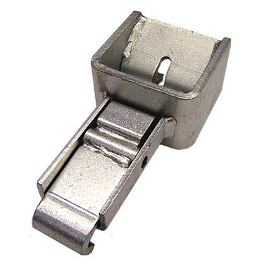 Porta Anchor for Stake Pockets - Inward Offset for Track-Mounted Tarps