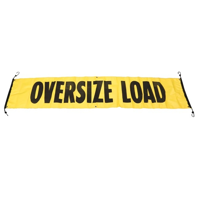 84 Quot X 18 Quot Oversize Wide Load Vinyl Sign Banner W Bungee Cords