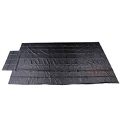 Heavy Duty Lumber Tarp - 20' x 27' (6' Drop & Flap) - 18oz Black image