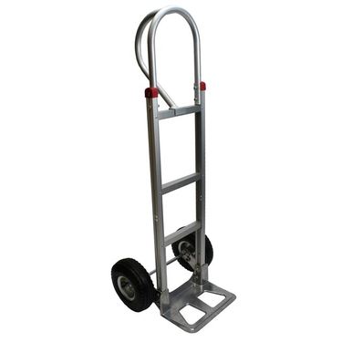 Aluminum Hand Truck w/ Pneumatic Wheels & Loop Handle