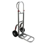 Aluminum Hand Cart w/ Foam Fill Tires & Stair Climbers image