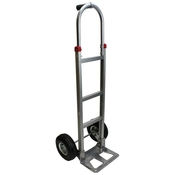 Aluminum Hand Truck w/ Pneumatic Wheels & Pin Handle image