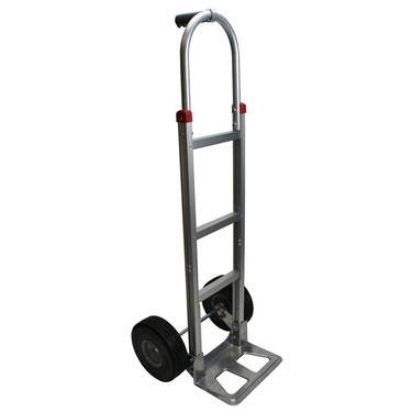 Aluminum Hand Truck Dolly w/ Foam Fill Tires