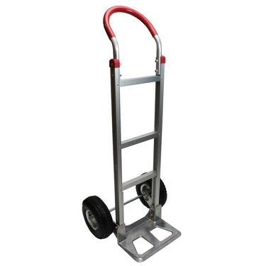 Aluminum Dolly Hand Truck w/ Pneumatic Wheels