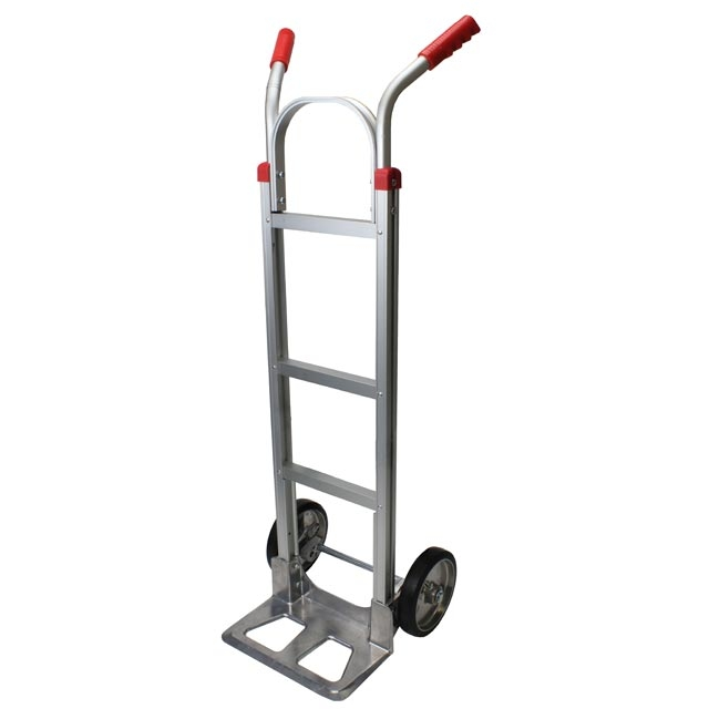 Personal hand truck furniture hand truck w dual grip for Furniture hand truck