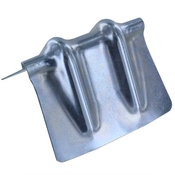 Steel Corner Protector for Chain - Galvanized W/ Groove image