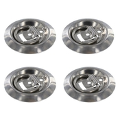 (4 pack) Stainless Steel Flush Mount D-Rings 800 lbs image