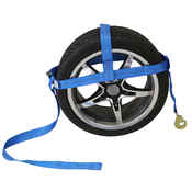Adjustable Wheel Net  w/ Twisted Snap Hook & Cambuckle image