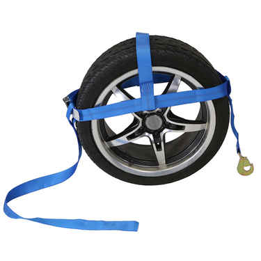 Adjustable Wheel Net  w/ Twisted Snap Hook & Cambuckle