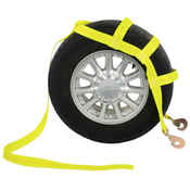 Tow Dolly Basket Strap with Twisted Snap Hooks image