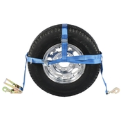 Double Adjustable Wheel Net w/ Twisted Snap Hook image