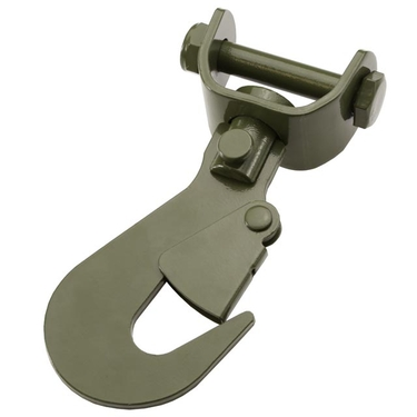 Olive Drab Swivel Flat Hook for 2