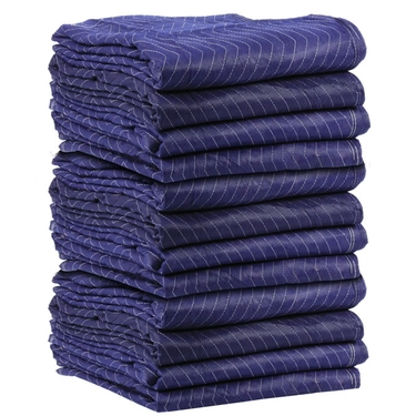 Moving Blankets - ECONO SAVER 72X80 Blue 43Lbs/Dz Moving Pads