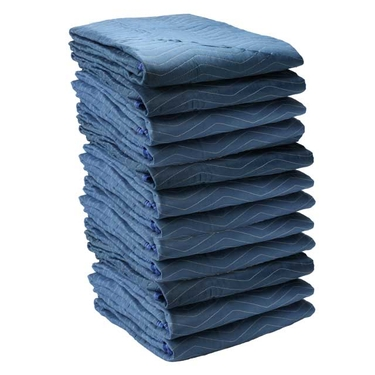 Moving Blankets- Pro Mover 12-Pack, 82 lbs./dozen