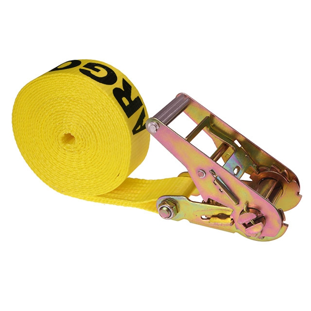 2 X 20 Endless Ratchet Strap W Yellow Webbing