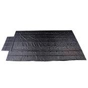 Heavy Duty Lumber Tarp - 16' x 27' (4' Drop & Flap) - 18oz Black Tarp image
