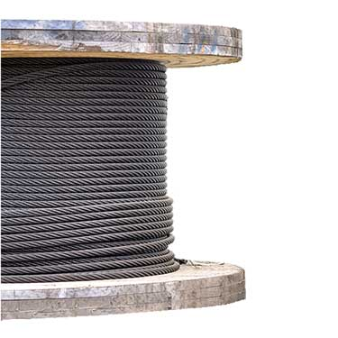 Bright Wire Rope EIPS IWRC - 6x19 Class - 1-3/4