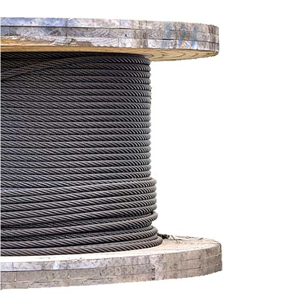 3 8 Steel Cable : Quot galvanized wire rope eips iwrc class coil