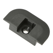 Flanged End Cap for Airline-Style L-Track image
