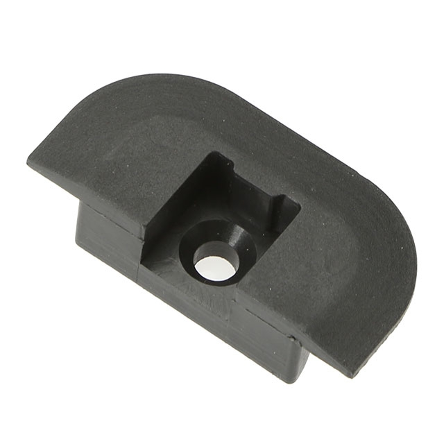 Lightolier Track End Cap: Airline Track Flanged End Cap