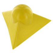 Plastic Corner Protector for Tarps - Yellow image