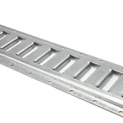 2' Horizontal Galvanized E Track (Box of 4) image