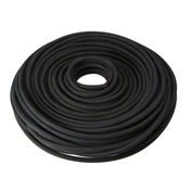Solid Core Rubber Rope: 3/8