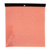 Orange Jersey Mesh Safety Flag with Vinyl Welt: 18