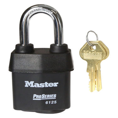 Master Lock® Keyed Alike Padlock: 2-3/8
